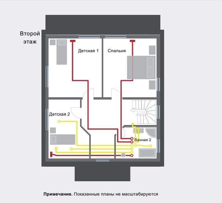 Готовое решение Zehnder, второй этаж