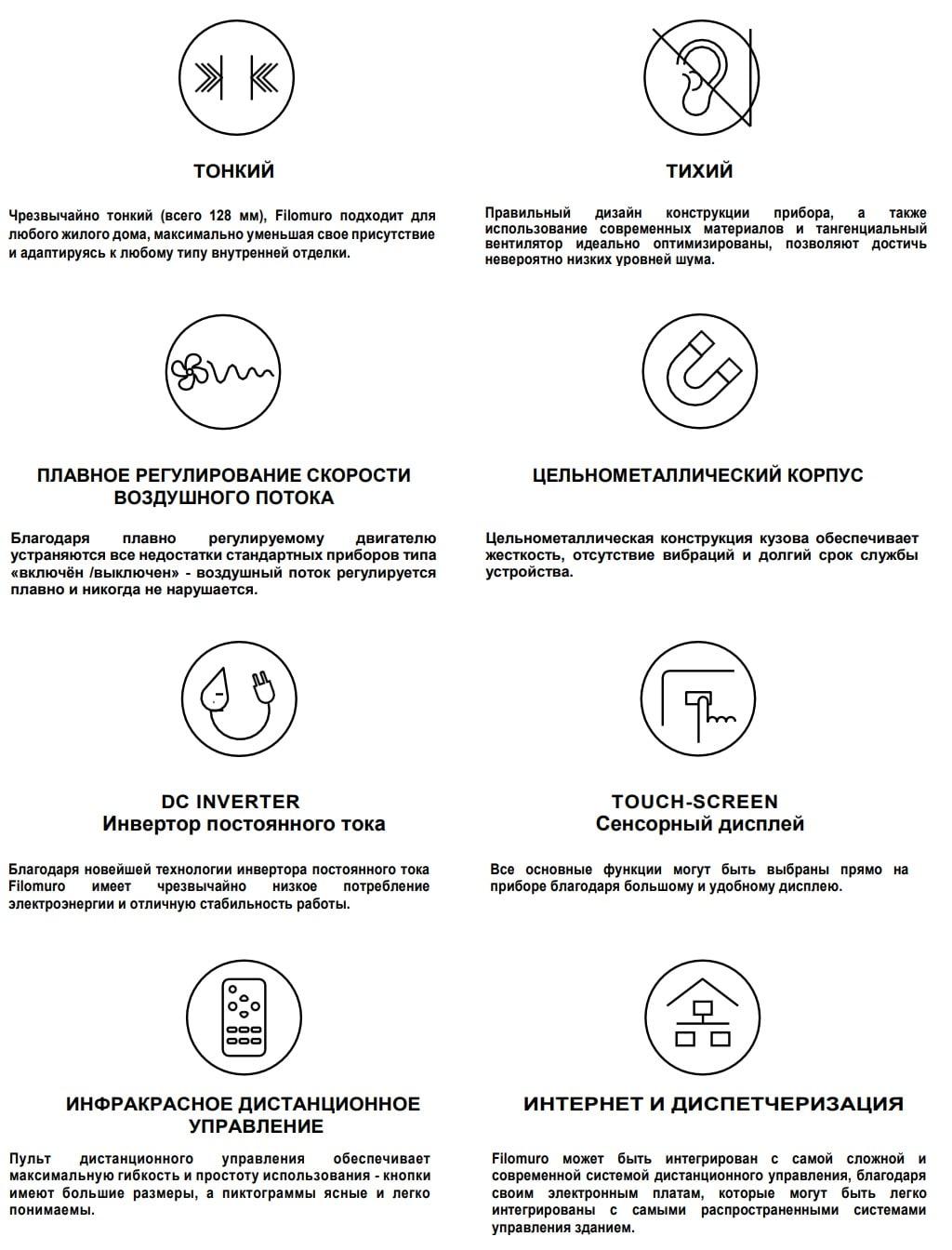 Innova Filomuro характеристики и особенности