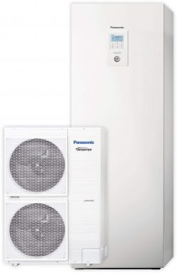 Тепловой насос Panasonic Aquarea T-CAP KIT-AXC16HE8 (All in One, 16 кВт, 380 В)
