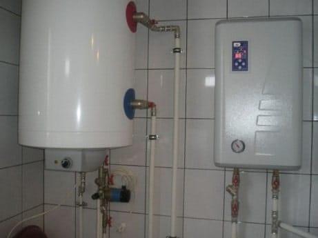 отопления электрическим котлом