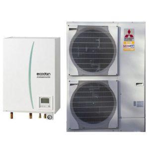 Тепловой насос Mitsubishi Electric ZUBADAN PUHZ-SHW80VHA/ERST20C-VM2C