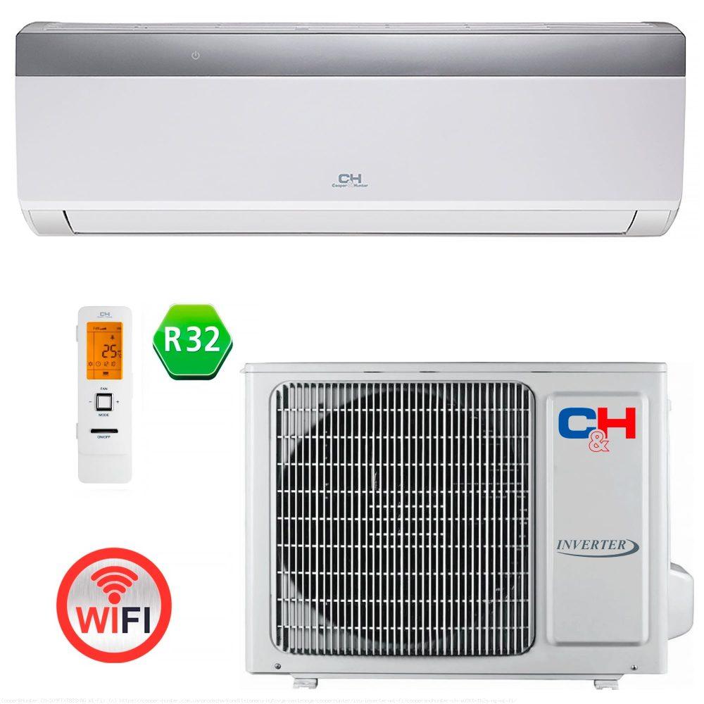 Кондиционер Cooper&Hunter ICY Inverter CH-S18FTXTB2S-NG (Wi-Fi)