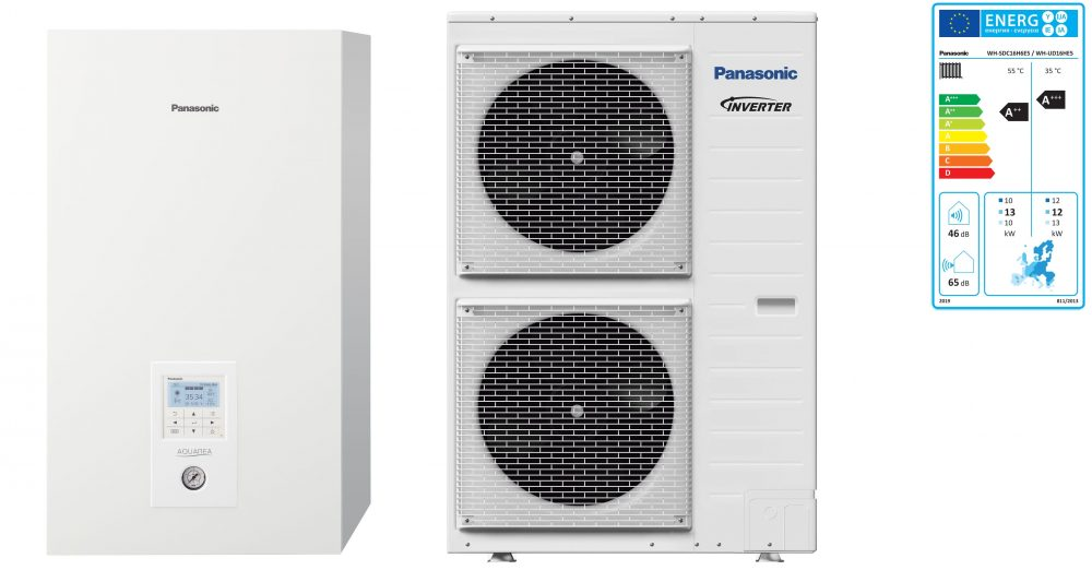Тепловой насос Panasonic Aquarea High Performance KIT-WC16H6E5 (Bi-Bloc, 16 кВт, 220 В)