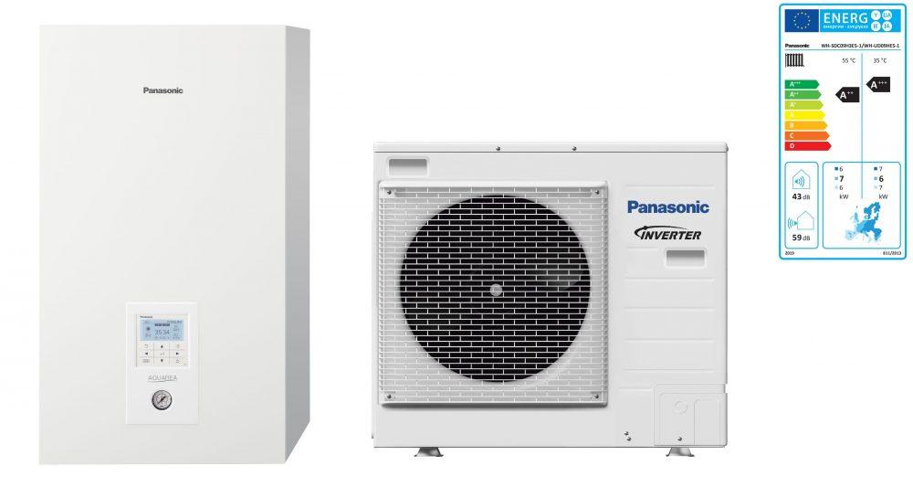 Тепловой насос Panasonic Aquarea High Performance KIT-WC09H3E5 (Bi-Bloc, 9 кВт, 220 В)