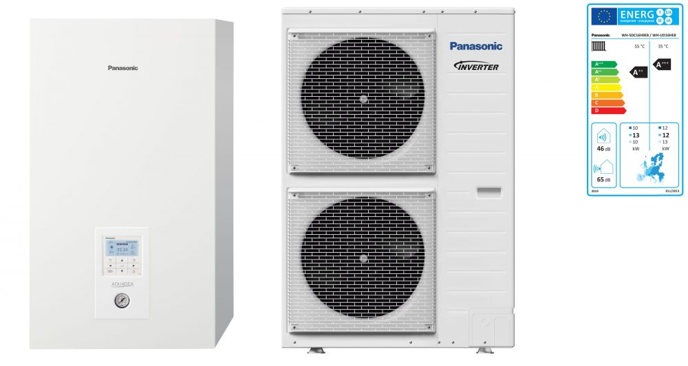 Тепловой насос Panasonic Aquarea High Performance KIT-WC16H9E8 (Bi-Bloc, 16 кВт, 380 В)