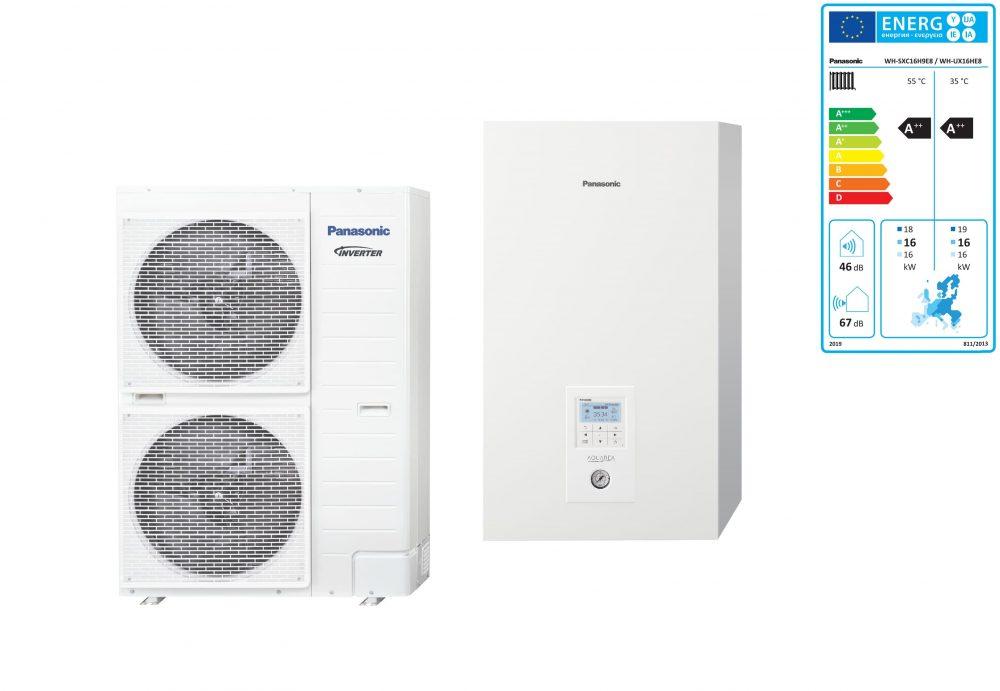 Тепловой насос Panasonic Aquarea T-CAP KIT-WXC16H9E8 (Bi-Bloc, 16 кВт, 380 В)