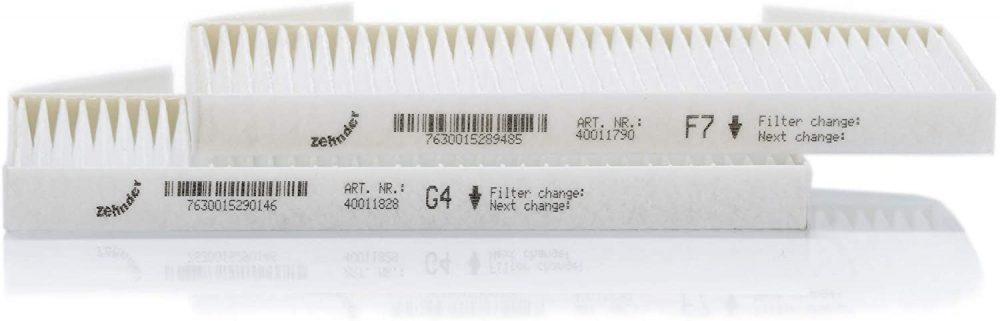 Набор фильтров G4/F7 для установки Zehnder ComfoSpot 50