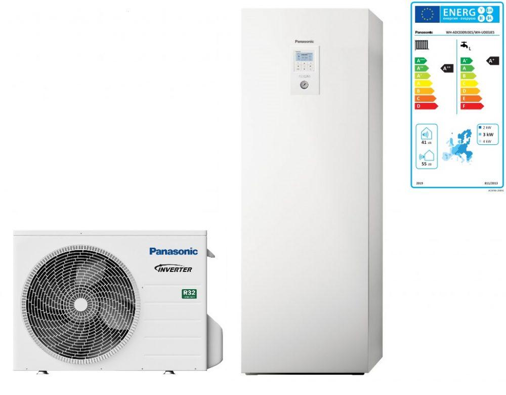 Тепловой насос Panasonic Aquarea High Performance KIT‑ADC03JE5 (All in One, 3 кВт, 220 В)