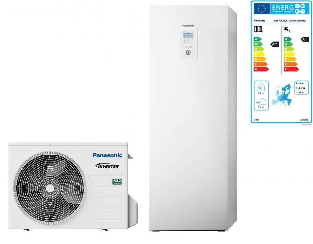 Тепловой насос Panasonic Aquarea High Performance KIT‑ADC05JE5 (All in One, 5 кВт, 220 В)