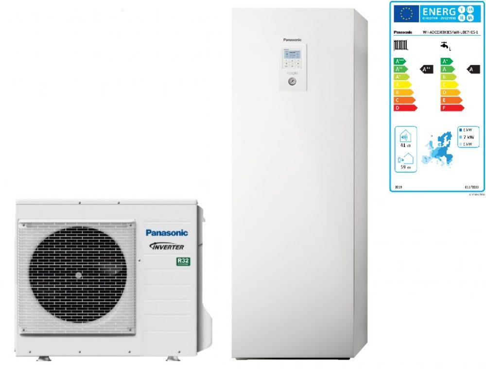 Тепловой насос Panasonic Aquarea High Performance KIT‑ADC07JE5 (All in One, 7 кВт, 220 В)