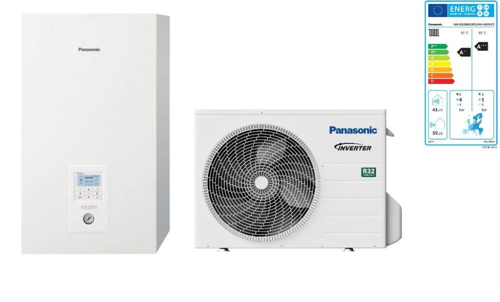 Тепловой насос Panasonic Aquarea High Performance KIT‑WC05J3E5 (Bi-Bloc, 5 кВт, 220 В)