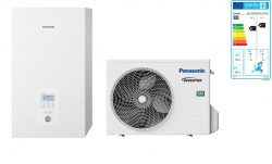 Тепловой насос Panasonic Aquarea High Performance KIT‑WC05J3E5 (Bi-Bloc, 5 кВт, 220 В)