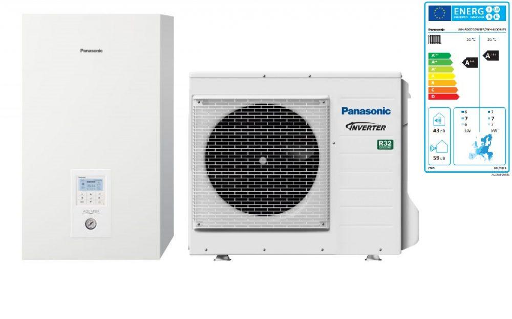 Тепловой насос Panasonic Aquarea High Performance KIT‑WC09J3E5 (Bi-Bloc, 9 кВт, 220 В)