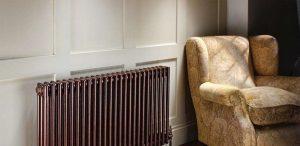 Стальной трубчатый радиатор Zehnder Charleston, цвет – Terracota Quartz 3057-22