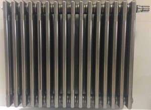 Стальной трубчатый радиатор Zehnder Charleston Completto, цвет – Technoline 3057-22