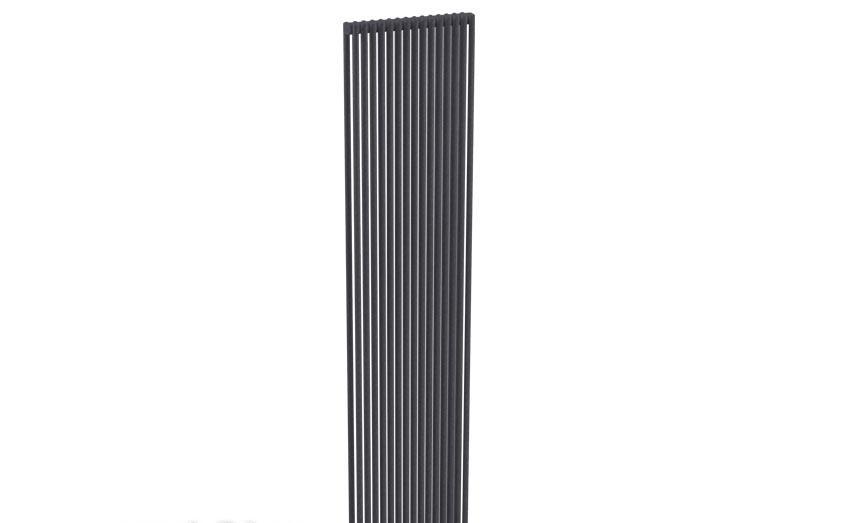 Вертикальный дизайн-радиатор Zehnder Kleo KLVD-250/090