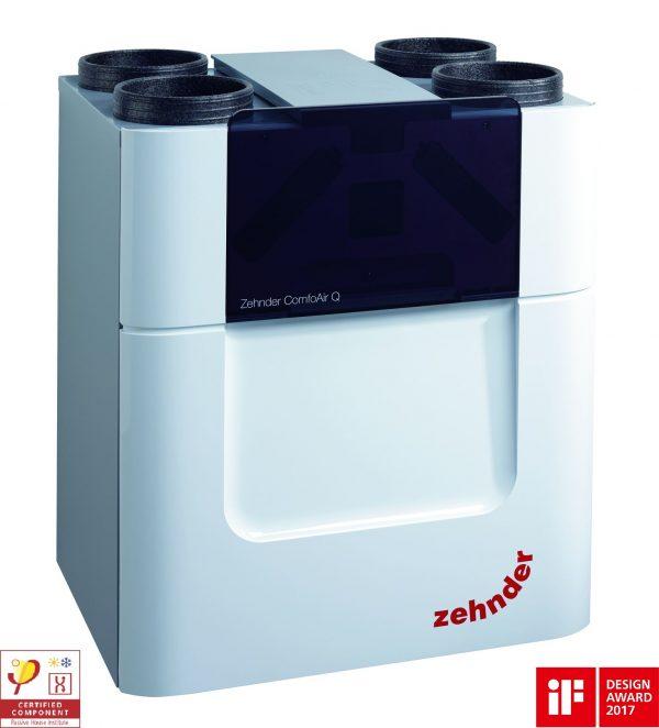 Вентиляция с рекуперацией тепла Zehnder ComfoAir Q600