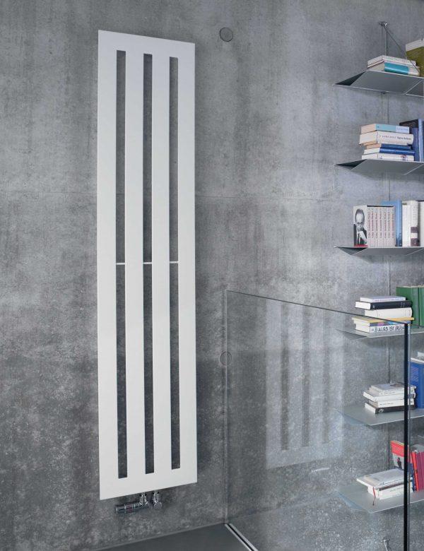 Стальной вертикальный радиатор Zehnder Metropolitan 1800х385