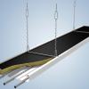 Потолочные панели лучистого отопления Zehnder ZIP, 3 м, 595 Вт