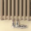 Набор присоединительной запорно-регулирующей арматуры Zehnder хромированный 5021