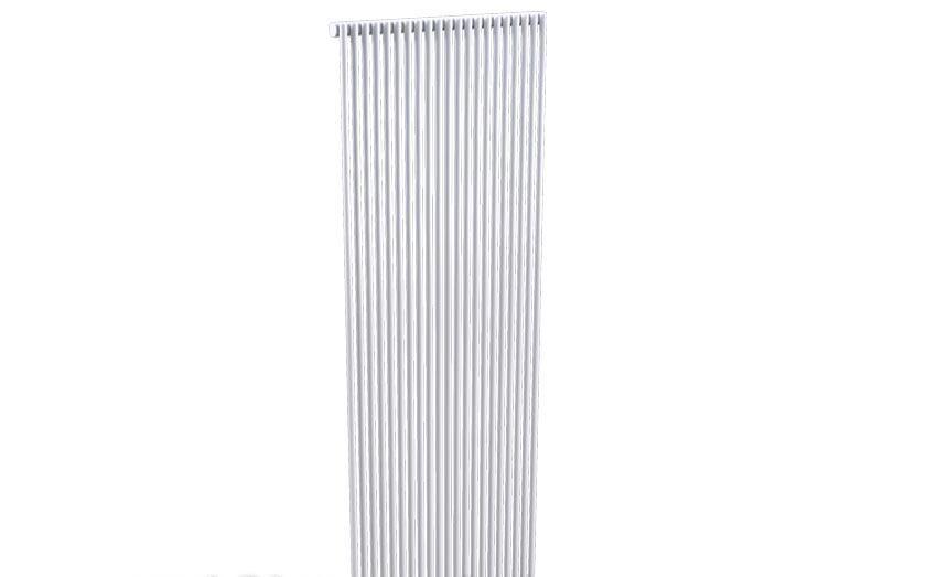 Вертикальный дизайн-радиатор Zehnder Kleo KLV-100/050