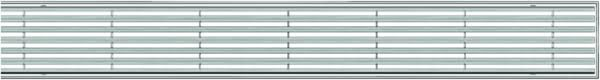 """Решетка для трапа ACO ShowerDrain E """"Продольные прутья"""" 1200 мм (9010.72.05)"""
